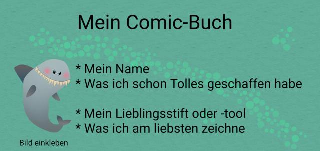 [ Mein Comic-Buch ] Daniela Schreiter