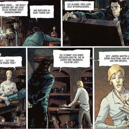 Die Treibjäger 1, Splitter Verlag, Ausschnitt Seite 14