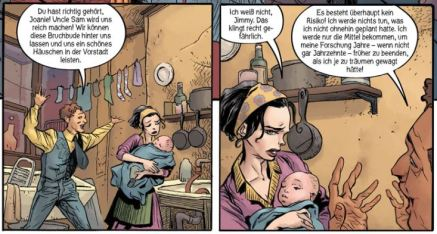 Doctor Star, Splitter Verlag, Ausschnitt Seite 12