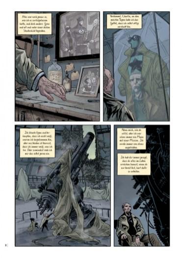 Doctor Star, Splitter Verlag, Seite 8