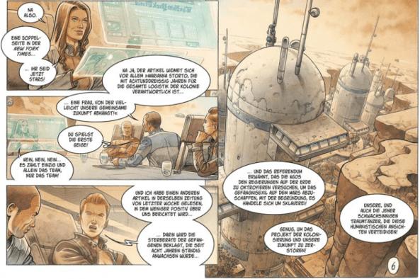 On Mars_, Splitter Verlag, Ausschnitt Seite 8