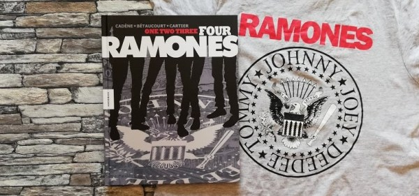 One, Two, Three, Four, Ramones +Rezension+