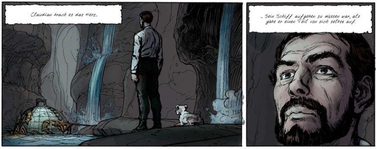 Fulgur 3, Ausschnitt Seite 8, Splitter Verlag