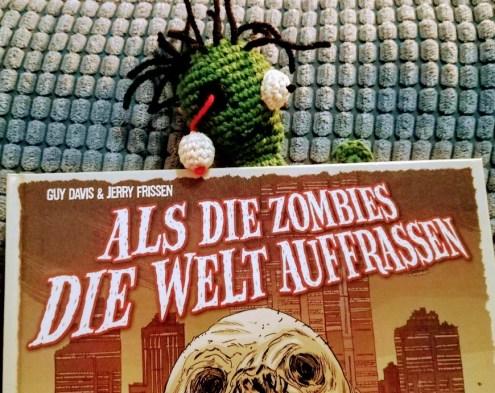 Flat Zombie Zombie-Lesezeichen