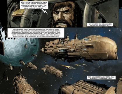 Conquest - Deluvenn, Ausschnitt Seite 3, Splitter Verlag