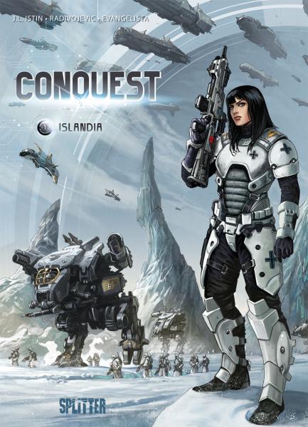 Conquest: Islandia, Splitter Verlag