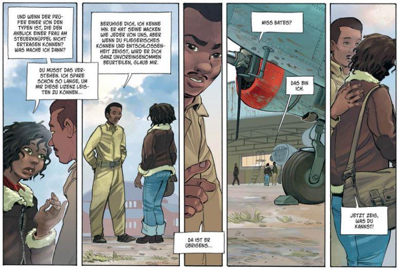 Liberty Bessie, Ausschnitt Seite 9, Splitter Verlag
