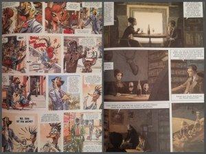 Artwork, Carlsen, Splitter Verlag
