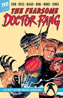 Dr. Fang, Cover Heft 1, TKO Studios