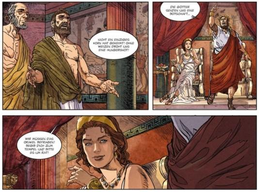 Jason und das goldene Vlies, Splitter Verlag, Ausschnitt Seite 6