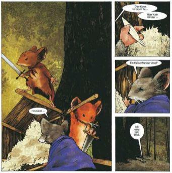 Mouse Guard 1, Ausschnitt 3, Cross Cult