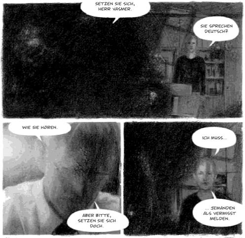 Vasmers Bruder, Carlsen verlag, Ausschnitt Seite 11