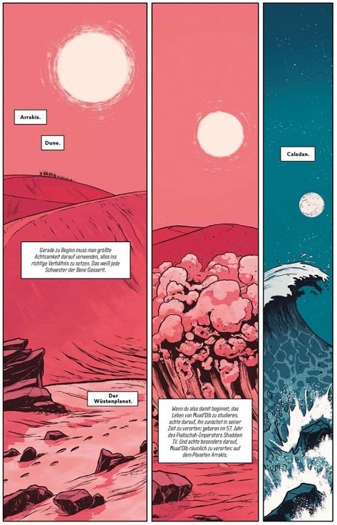 Dune 1, Splitter Verlag, Seite 11