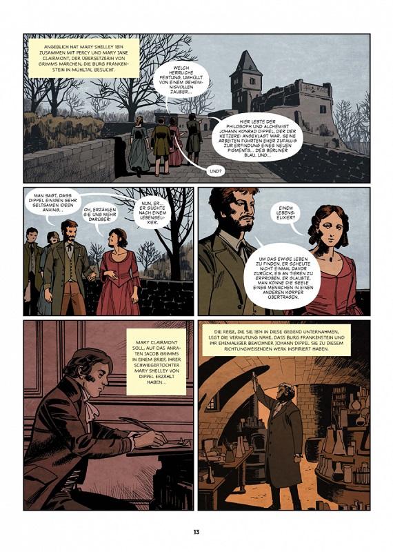 Die Geschichte der Science-Fiction, Splitter Verlag, Seite 13