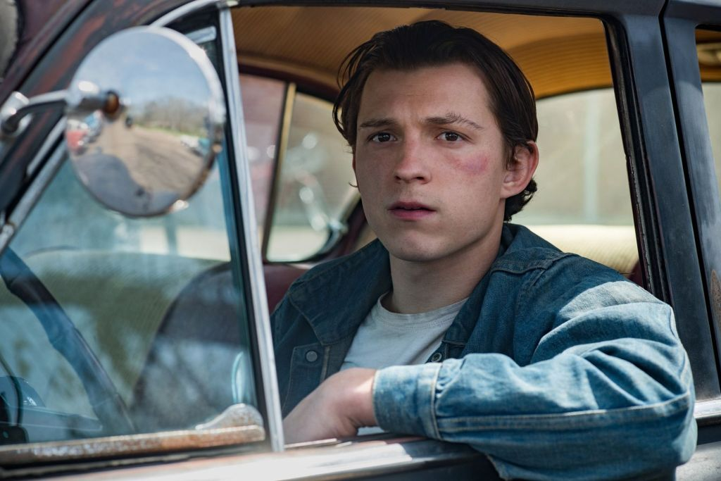 Tom Holland  photo in the movie The Devil All The Time