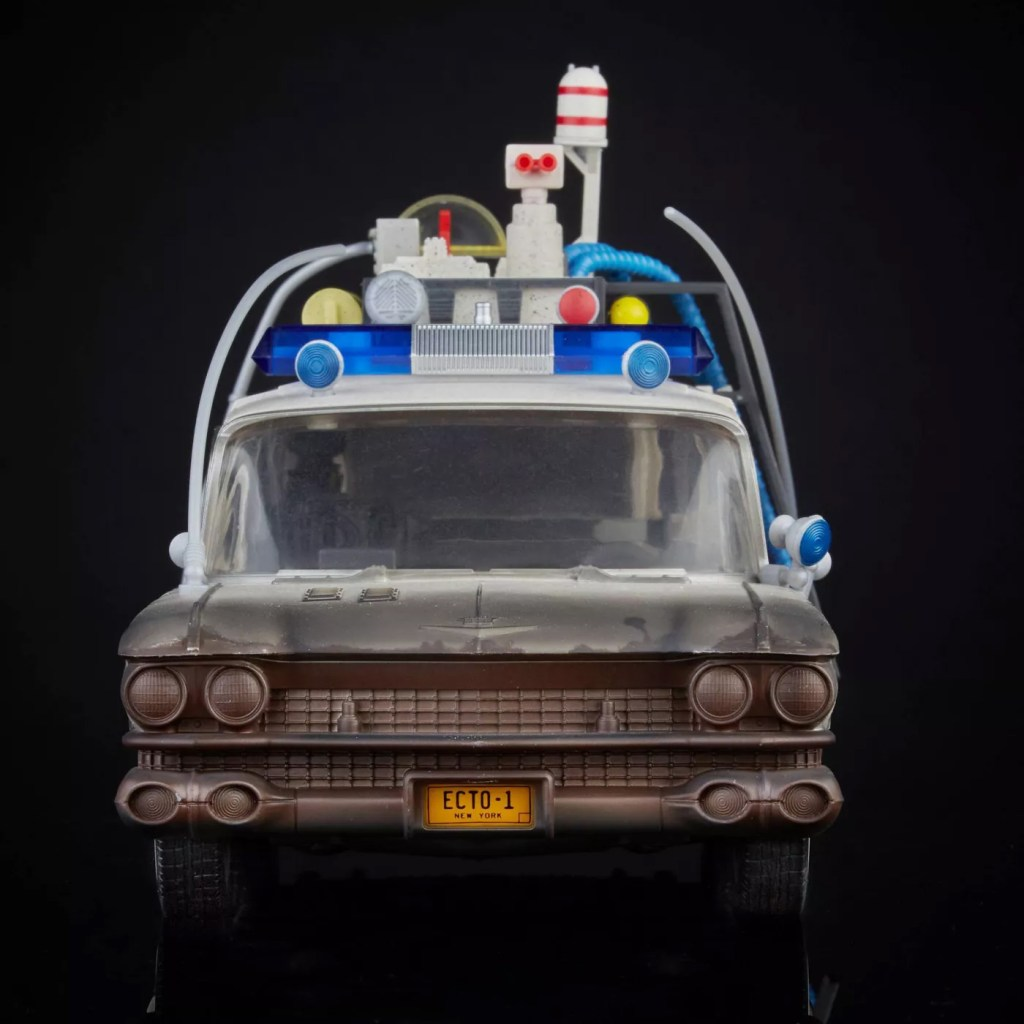 Ghostbusters Ecto-1 Plasma Series Hasbro Front