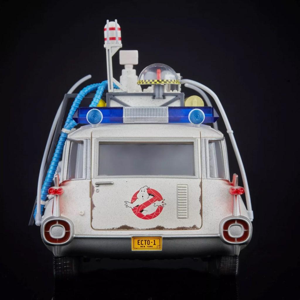 Ghostbusters Ecto-1 Plasma Series Hasbro Back