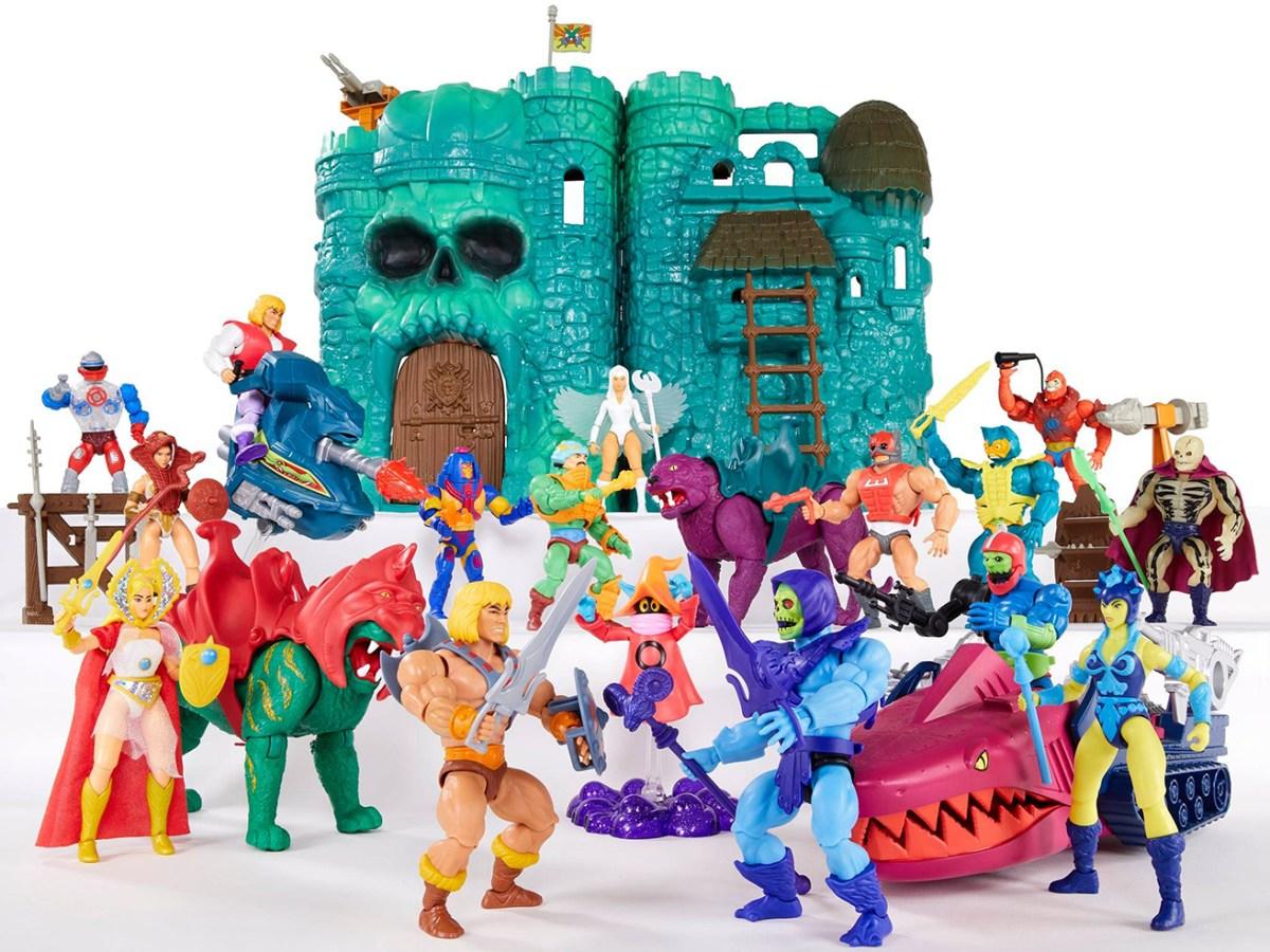 Castle Grayskull Masters of the Universe Mattel