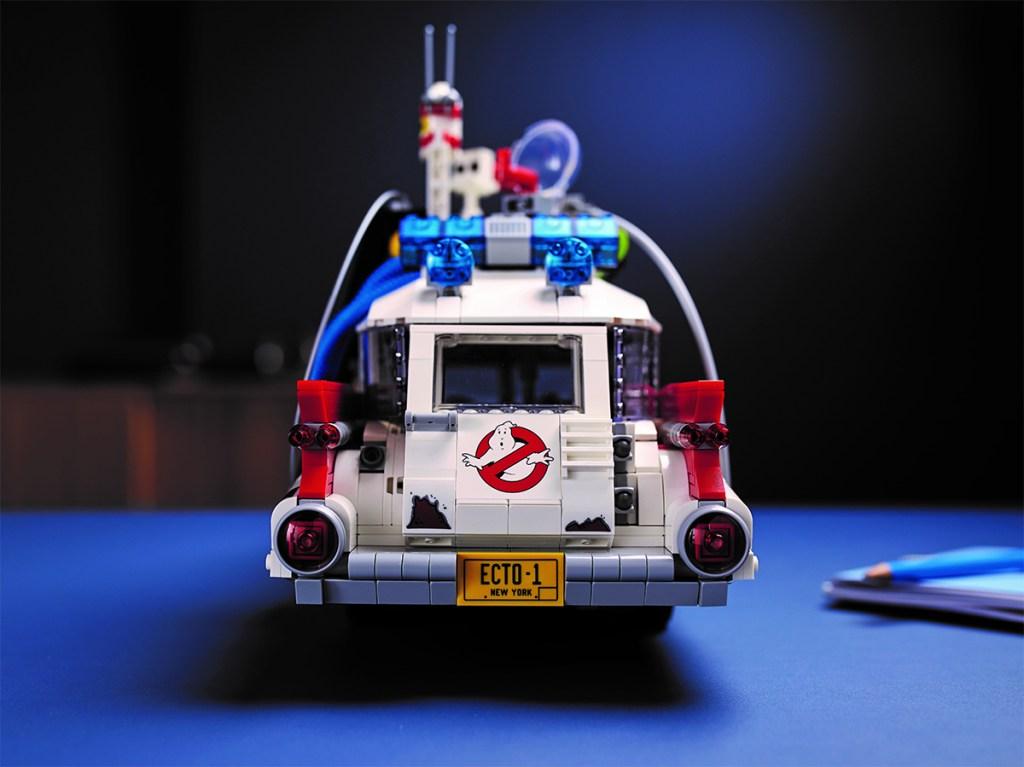 ECTO 1 Ghostbusters LEGO rear