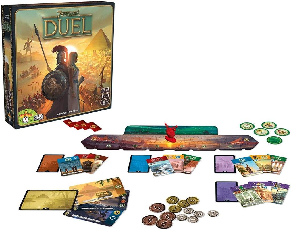 7 Wonders Duel Board Game Review