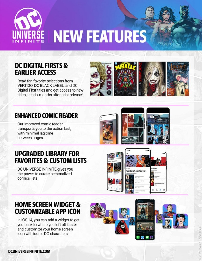 DC Universe Infinite App