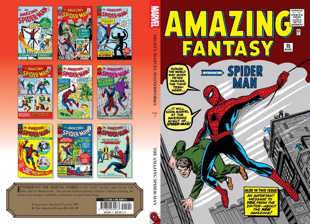 Mighty Marvel Masterworks  Spider-Man Amazing Fantasy