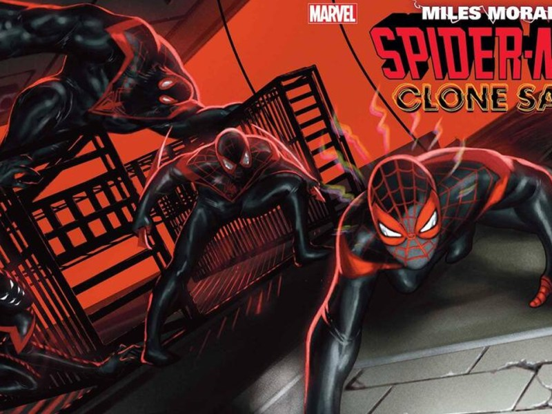 Miles Morales Spiderman Clone Saga