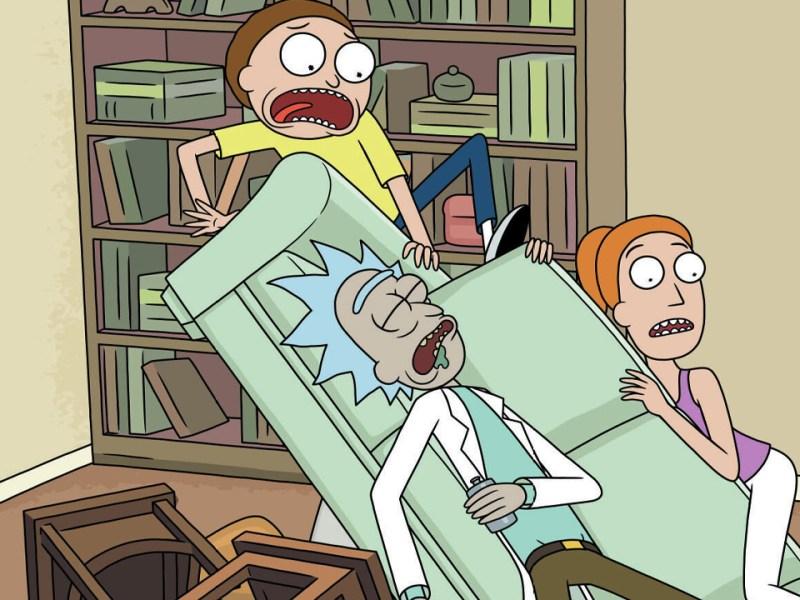 Rick and Morty Blu Ray