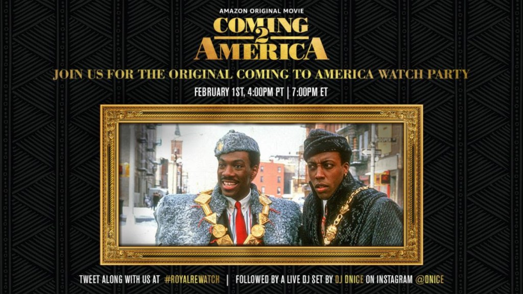 Coming To America Watch Party