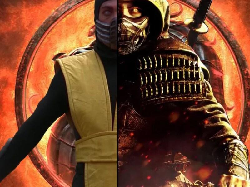 Mortal Kombat 1995 vs 2021