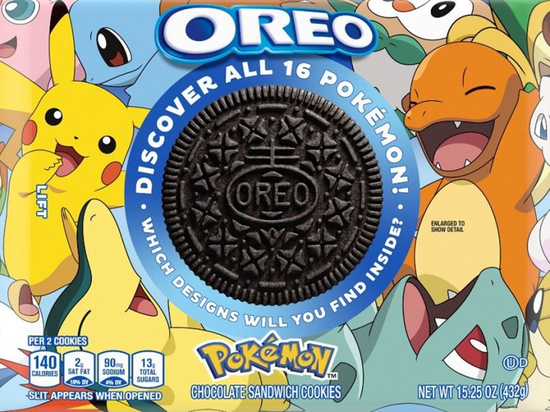 Pokémon OREO Limited Edition
