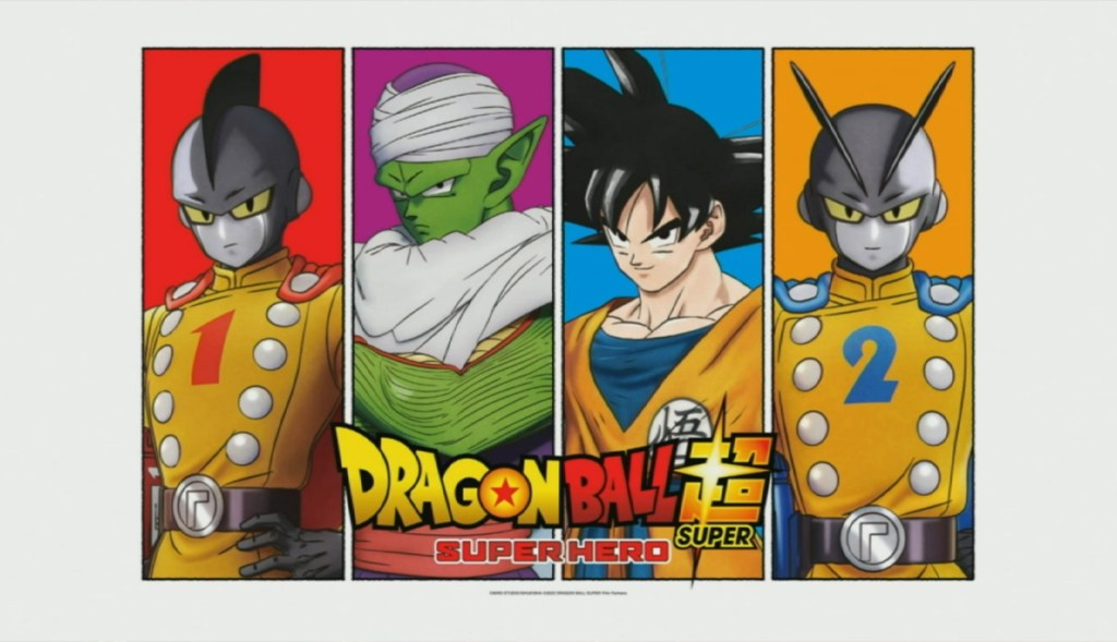 Dragon Ball Super Super Hero Teaser
