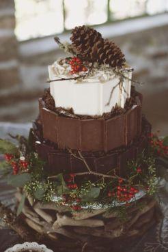 Wedding Christmas Cake 1