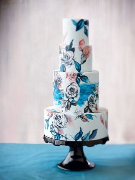 Handpainted Cake 8