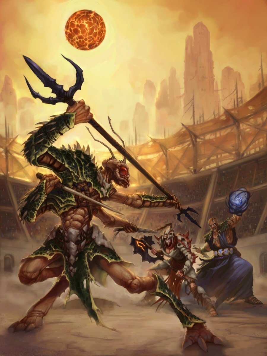 Dark Sun Dungeons & Dragons campaign setting