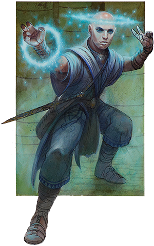 Play Your Next 5E D&D Game as a Way of the Unseen Fist Monk