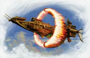 spell jammer ship