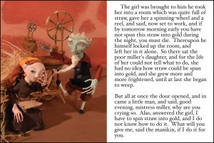 Grimm's Fairy Tales Rumplestiltskin Scene 2
