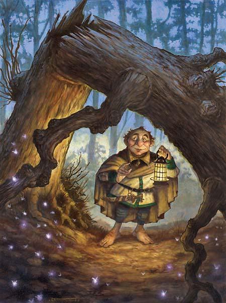 D&D, RPG, halfling, Hobbit, DragonMag2, Jim Henson, Brian Froud, diterlizzi