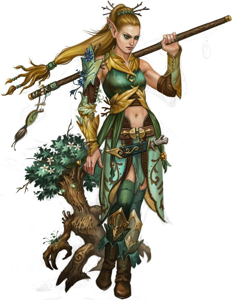 D&D Druid 5E — Best Race in Fifth Edition Dungeons & Dragons
