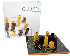 Board Games in Review – Quarto Classic – Puzzle Game