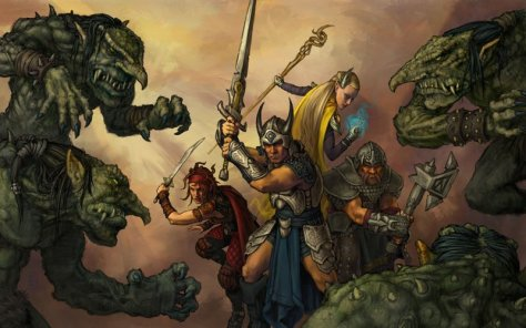 running D&D for large groups