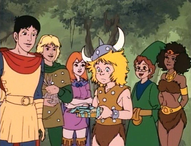 blast from the past dungeons & dragons animated