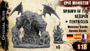 deep madness tabletop miniature