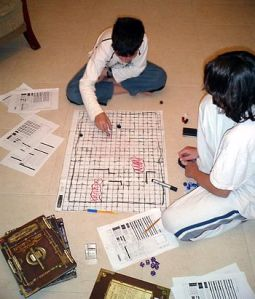 Relationships and Dungeons & Dragons using your Imagination