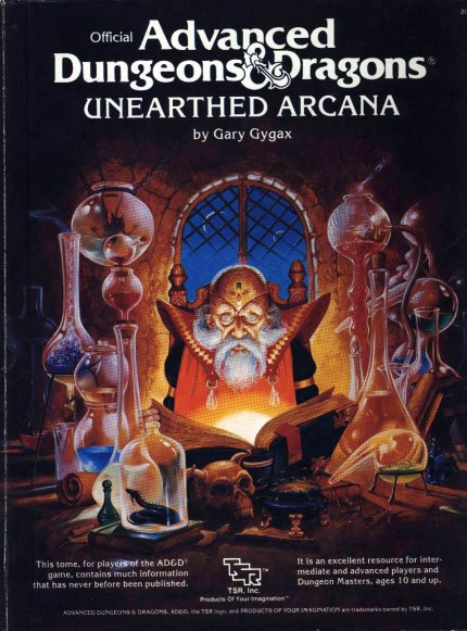 5th edition D&D Unearthed Arcana