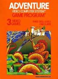 Blast from the Past: Adventure video game for Atari 2600