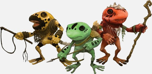 Grung monsters