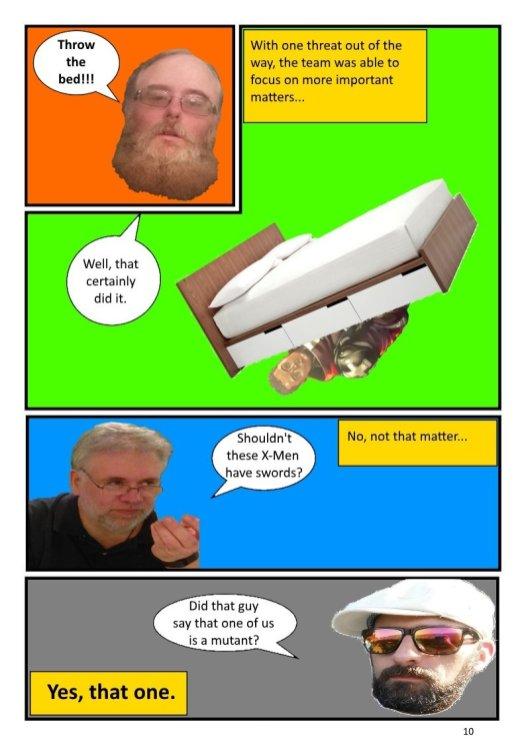 Nerdarchy comic book No. 1, page 10