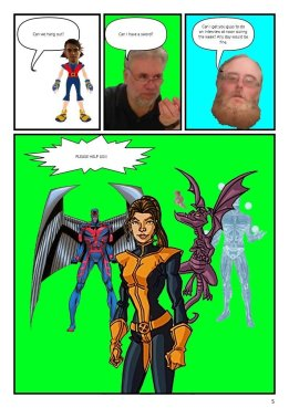 Nerdarchy comic book No. 1, page 5